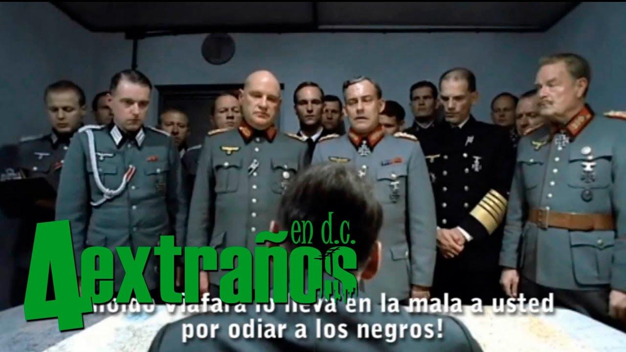 4 Extraños en D.C -Hitler se entera que no fue invitado al lanzamiento del nuevo capitulo