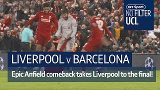 Video Anfield magic stuns Barca as Liverpool reach final! | No Filter UCL: Liverpool vs Barcelona MP3, 3GP, MP4, WEBM, AVI, FLV Agustus 2019
