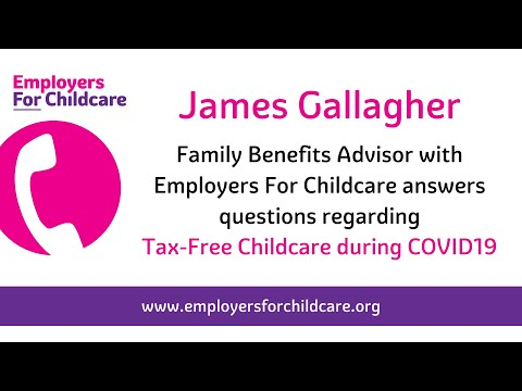 Tax-Free Childcare and COVID-19