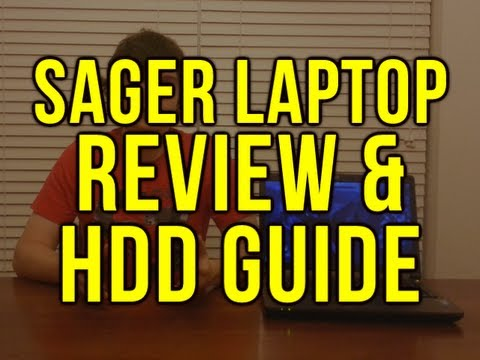 Sager NP7352 Laptop Review - Hard Drive Guide for PC Recording