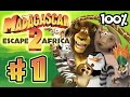 Madagascar Escape 2 Africa Walkthrough Part 1 x360 Ps3