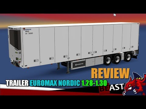 Trailer Euromax Nordic 1.28-1.30