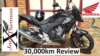 6. Honda CB500X 30,000km REVIEW (18641 Miles)