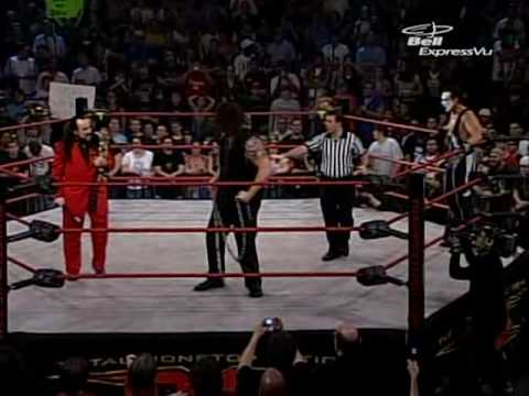 Abyss (c) vs Sting vs Christian Cage NWA World title 1/2
