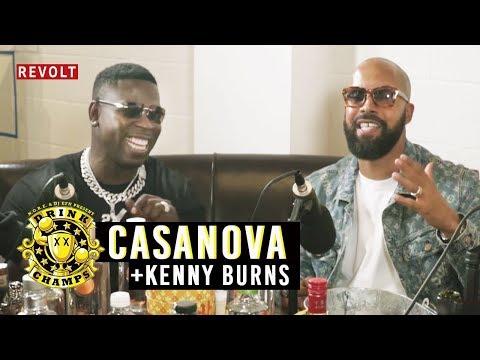 Casanova & Kenny Burns   Drink Champs (Full Episode) (видео)