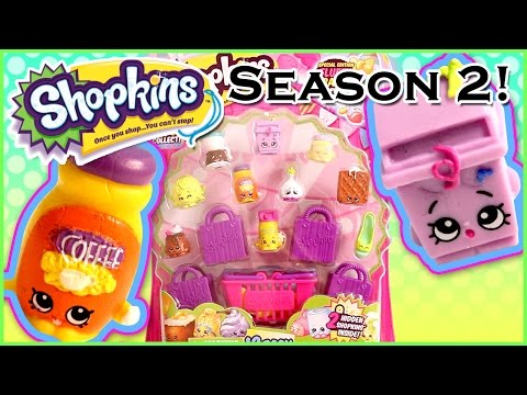 Shopkins Season2 12-Pack – Cute Kawaii Collectible Toys with Surprise Blind Bags