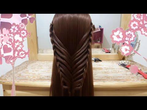 Peinados De Mariposa Con Trenzas Faciles Para Cabello Largo