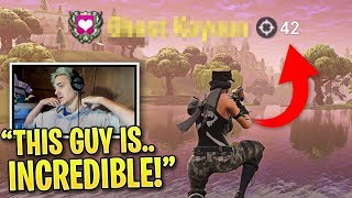 Video Ninja is SHOCKED When Spectating This Pro Fortnite Player... MP3, 3GP, MP4, WEBM, AVI, FLV Desember 2018