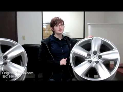GX 460 Rims & GX 460 Wheels - Video of Lexus Factory, Original, OEM, stock new & used rim Co.