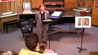 The Language Of Music: Lecture 9 - Music Of The Renaissance
