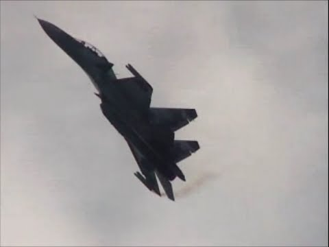 Sukhoi Su-30 MKK Flanker-Jet Fighters...