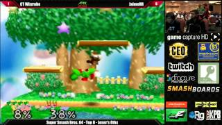 Super Smash Bros 64 Top 8 CT Wizzrobe vs JaimeHR – Apex 2014 Tourmament