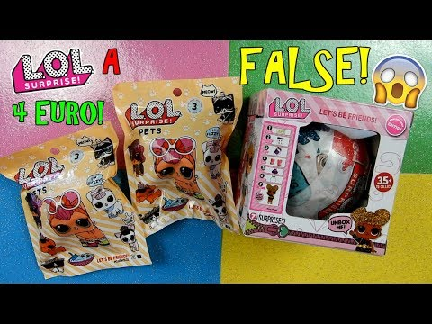 APRO LOL SURPRISE FALSE COMPRATE IN EDICOLA A 4 EURO! COME SARANNO? Iolanda Sweets (видео)