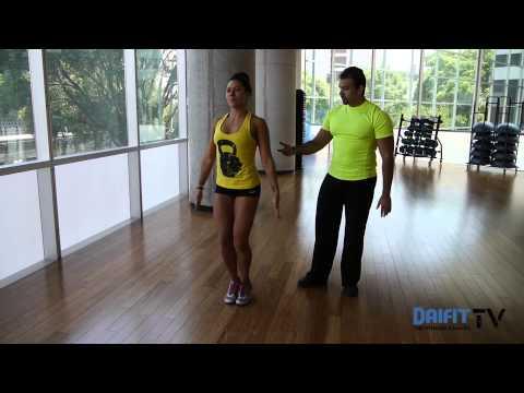 Jumping jacks y saltos de tijera (jumping jacks frontales)