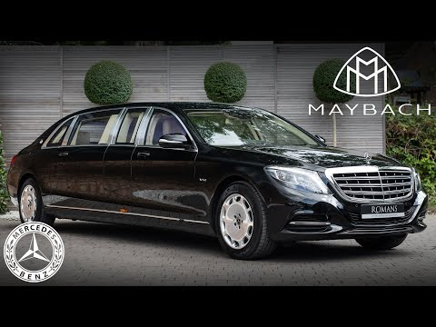 The 10 Best Things About The Mercedes-Maybach S600 Pullman!