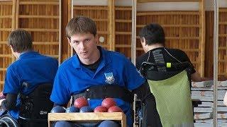 Jan Bajtek - mistr ve sportu zvaném boccia