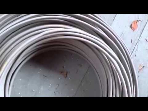 What kind of wire to bury in the ground