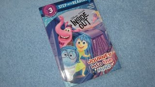 A Read Out Loud Book: Disney Pixar (INSIDE OUT) Journey into the mind