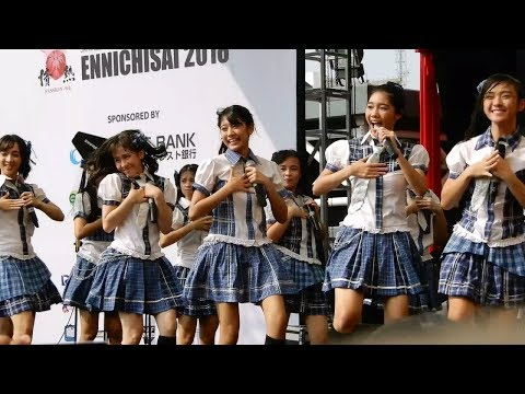JKT48 - Everyday Kachuusha, Pesawat Kertas | At Blok M Square - ENNICHISAI 2018
