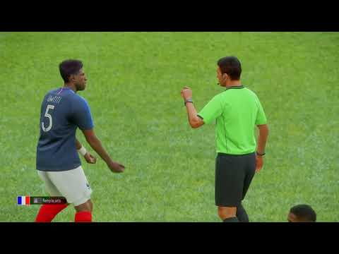 France Vs Argentine Solo de Pro Evolution Soccer 2019