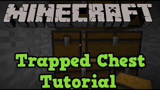 Minecraft Xbox 360 + PS3: Trapped Chest Tutorial (Troll Chest)