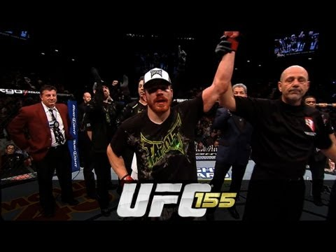UFC 155: Jim Miller Octagon Interview