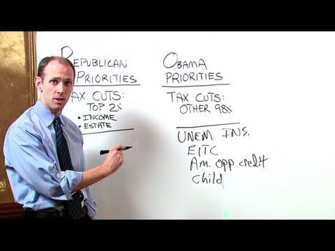 White House White Board: Tax Cuts, Unemployment Insurance & Jobs