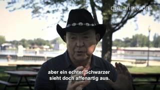 Die Arier FILM, Interview Tom Metzger (Mo Asumang)