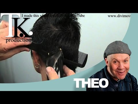 Download My man will love it! Petra's short to ultra short haircut and color by T K HD Video