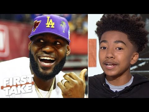 Video: Miles Brown calls himself a 'LeBron expert' and predicts he will return to MVP form | First Take