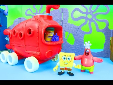 Bus - Just4fun290 presents SpongeBob Squarepants Bikini Bottom Bus! SpongeBob is on the way to get Krabby Patties! Patrick sees the bus take off and chases after! Not too long after both get kicked...