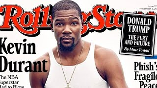 Kevin Durant DESTROYED Over Rolling Stone Cover by Obsev Sports