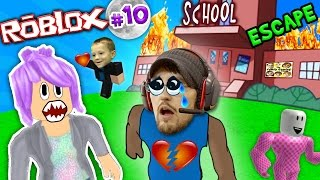 CHASE STOLE MY BEST FRIEND! Roblox #10: ESCAPE from SCHOOL OBBY! (FGTEEV Weird Roleplay)