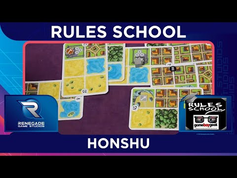How to Play Honshu (Rules School) with the Game Boy Geek