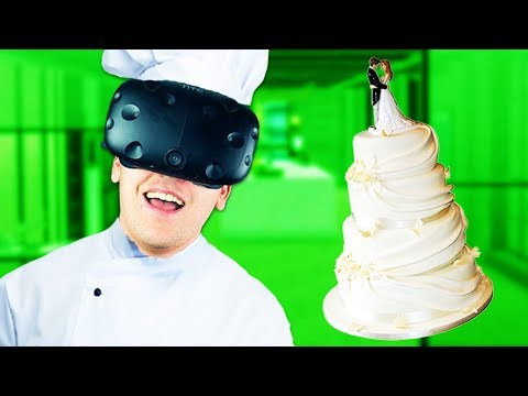 Baking Wedding Cakes In VR! - ChefU Gameplay - VR HTC Vive