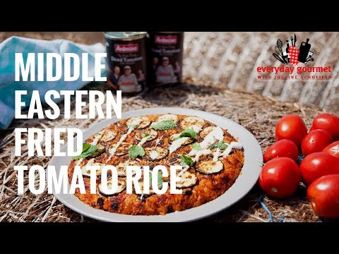 Middle Eastern Tomato Rice | Everyday Gourmet S7 E6