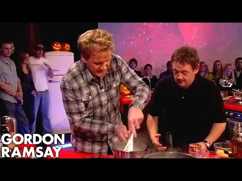 How To Make Perfect White Sauce - Gordon Ramsay