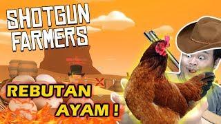 Video REBUTAN AYAM KOKOK! - Shotgun Farmers Indonesia MP3, 3GP, MP4, WEBM, AVI, FLV Oktober 2017