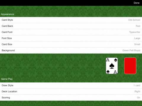 Video of Solitaire Classic