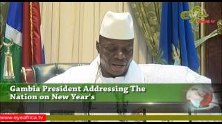 President Jammeh New Year massage to the People of The Gambia