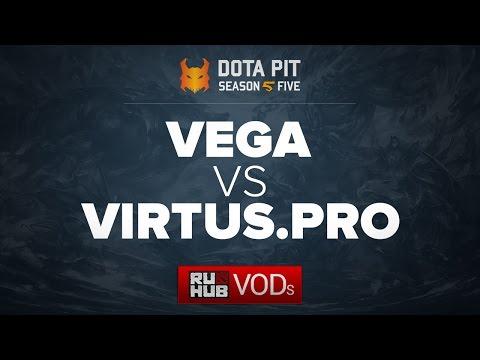 Vega Squadron vs Virtus.pro, Dota Pit Season 5 CIS Qual, game 1