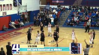 RHS Girls Basketball vs Whitko Wildcats