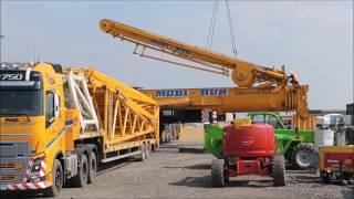 Video arge mobile crane Terex AC 1000 construction boom MP3, 3GP, MP4, WEBM, AVI, FLV Oktober 2018
