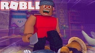 I WAS PUSHED INTO THE MURDERER!!   Roblox Murder Mystery 2
