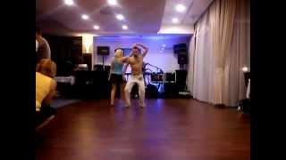 Balatonalmadi Hungary  City pictures : Andrew Brasilerinho - LAMBADA - Latinoo aerobics show ( Balatonalmádi, Hungary) 2012.09.14.