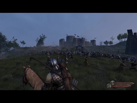 Mount & Blade II: Bannerlord E3 2016 Siege Gameplay Extended (видео)