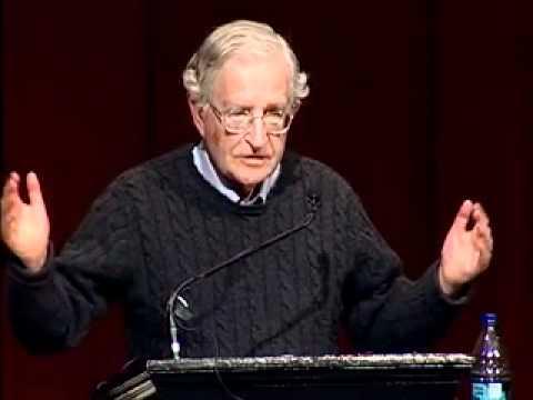 Noam Chomsky at Brown University on Israel & Palestine