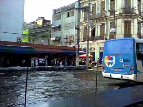 Enchente Rio Negro Centro Manaus Em Torno da Alfândega-Flood Centro Rio Negro Manaus Customs Around