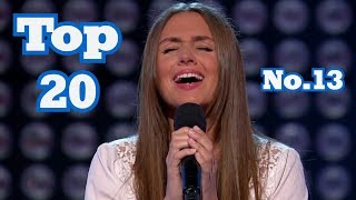 Video The Voice - My Top 20 Blind Auditions Around The World (No.13) MP3, 3GP, MP4, WEBM, AVI, FLV Oktober 2017