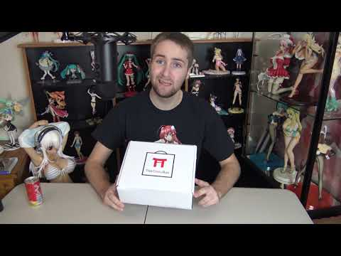 The Otaku Box February 2019 Unboxing! High School DxD, Fairy Tail, Super Sonico And More!